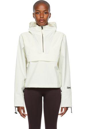 Reebok Off-White Nylon Anorak Jacket