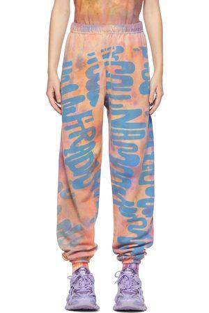 Collina Strada Multicolor 'Collina Land' Tie-Dye Printed Graphic Lounge Pants