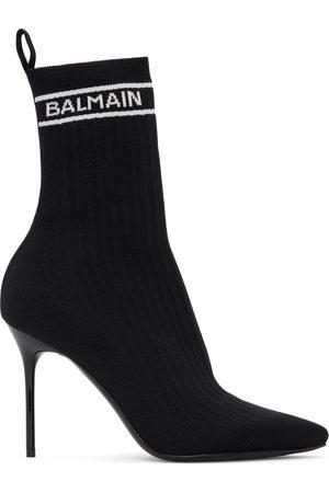 Balmain Black Skye Ankle Boots