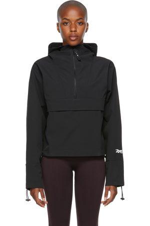 Reebok Black Canvas Anorak Jacket