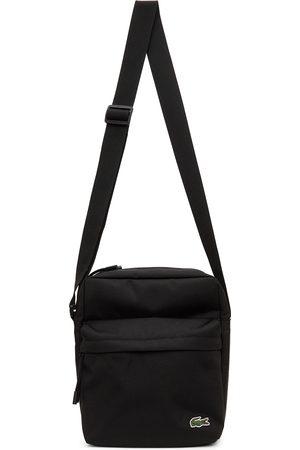 Lacoste Black Canvas Neocroc All-Purpose Bag