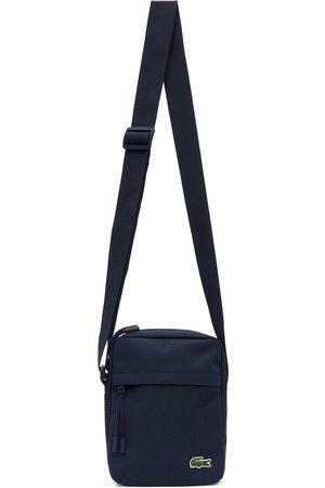 Lacoste Navy Canvas Neocroc Bag