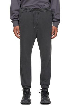 JUUN.J Grey Garment-Dyed Jogger Lounge Pants