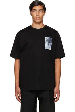 JUUN.J Men Short Sleeve - Black Graphic Short Sleeve T-Shirt