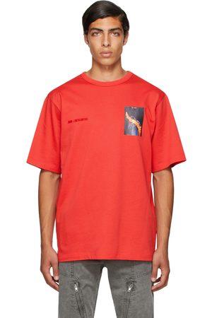 JUUN.J Red Graphic Short Sleeve T-Shirt