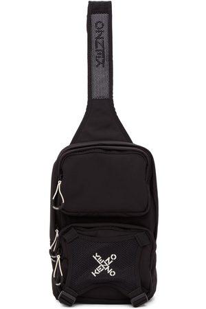 Kenzo Women Rucksacks - Black Single Shoulder Backpack