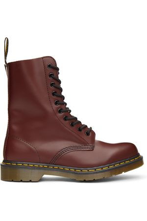 Dr. Martens Men Boots - Red 1490 Boots