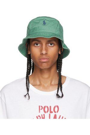 Polo Ralph Lauren Men Hats - Green Cotton Bucket Hat