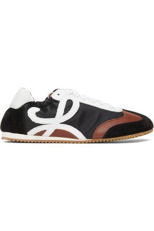 Loewe Women Ballerinas - Black & Brown Ballet Runner Sneakers