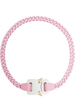 1017 ALYX 9SM Women Necklaces - Pink Chain Link Buckle Necklace