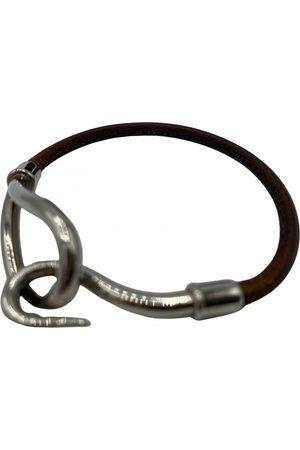 Hermès Jumbo leather bracelet