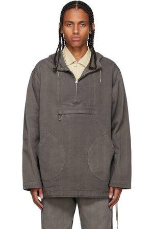 Taiga Takahashi Grey Anorak Jacket