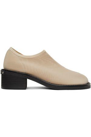 OSOI Beige Mesh Tobee Loafers