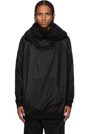 JULIUS Men Puffer Jackets - Black Padded Hoodie Jacket
