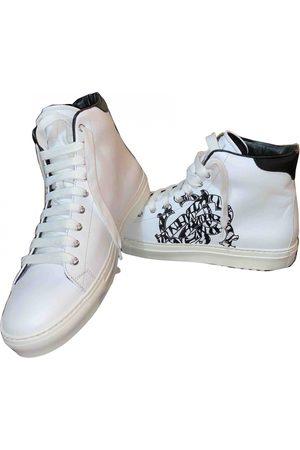Roberto Cavalli Leather high trainers