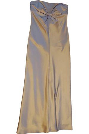 Shelli Segal Silk maxi dress