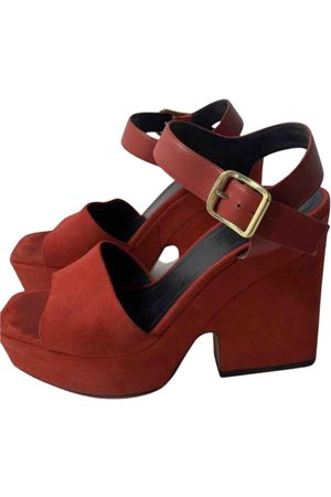 Céline Glove Heel sandal