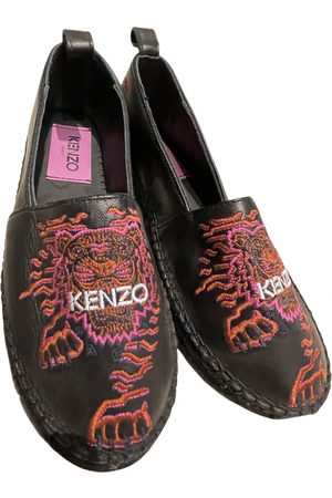 Kenzo Tigre leather espadrilles