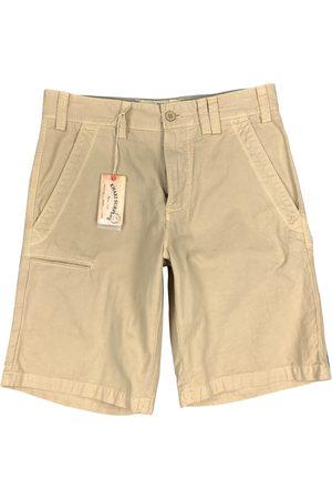 AUTRE MARQUE Men Shorts - Khaki Cotton Shorts