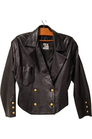 CLAUDE MONTANA Leather Leather Jackets