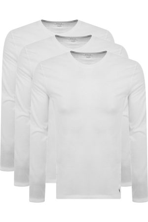 Ralph Lauren 3 Pack Long Sleeve T Shirts