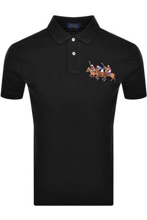 Ralph Lauren Men Polo Shirts - Basic Mesh Polo T Shirt