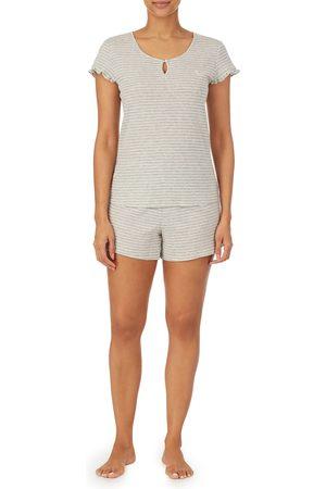 LAUREN RALPH LAUREN Women's Stripe Cotton Short Pajamas