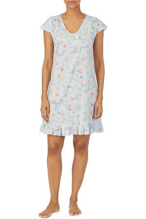 LAUREN RALPH LAUREN Women's Lace Trim Nightgown