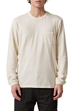 Globe Men's Every Damn Day Long Sleeve Pocket Organic Cotton T-Shirt