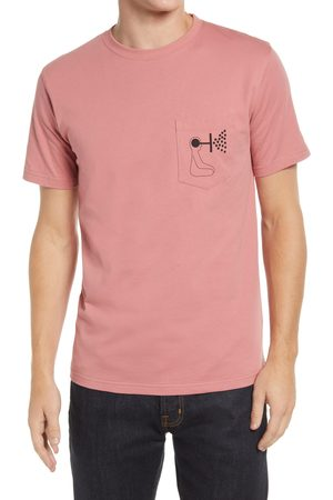 Norse Projects Men's Gm X Np Niels Mind Wall Cotton Graphic Pocket Tee