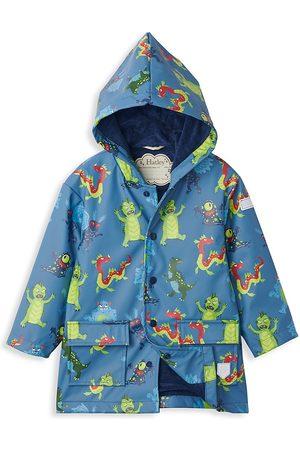 Hatley Little Boy's & Boy's Creepy Cryptids Raincoat