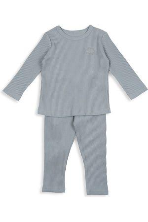 Pouf Baby's, Little Boy's & Boy's 2-Piece Long-Sleeve Ribbed Set