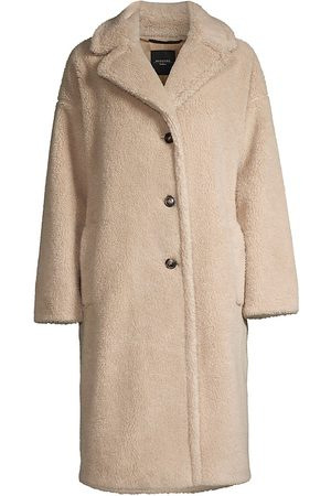 Weekend Max Mara Salmone Teddy Coat