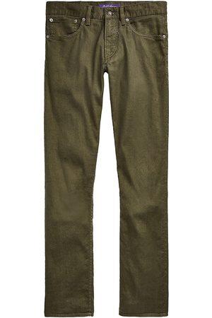 Ralph Lauren Purple Label Men Slim - Linen-Blend Slim Jeans