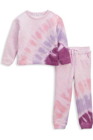 Splendid Girls Sets - Baby's & Little Girl's Sunburst Tie-Dye 2-Piece Jogger Set
