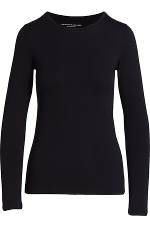 Majestic Soft Touch Long-Sleeve Top