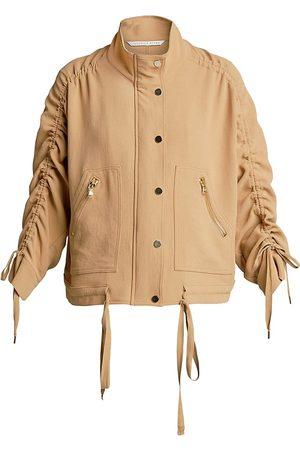 VERONICA BEARD Women Sports Jackets - Paros Drawstring Jacket