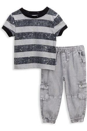 Splendid Boys Cargo Pants - Baby's & Little Boy's 2-Piece Stripe Cargo Pants Set