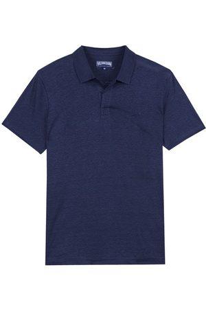 Vilebrequin Linen Jersey Polo Shirt Solid