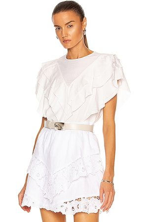 Isabel Marant Heaven Top in Ivory