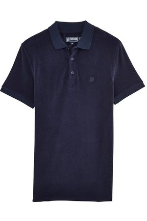 Vilebrequin Terry Cloth Polo Shirt Solid