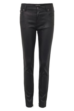 Tom Ford Shiny lacquered denim pants