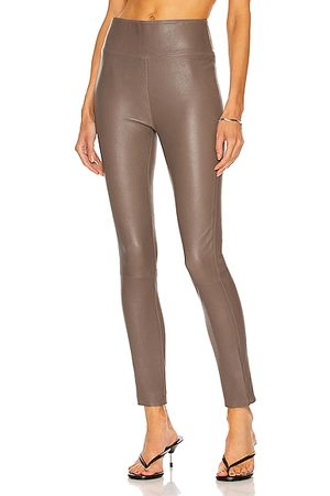 SPRWMN Ankle Legging in Grey, Taupe
