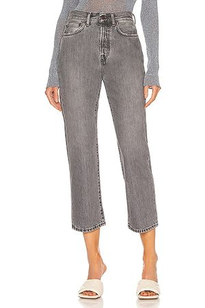 Acne Studios Mece Worn Straight in Charcoal