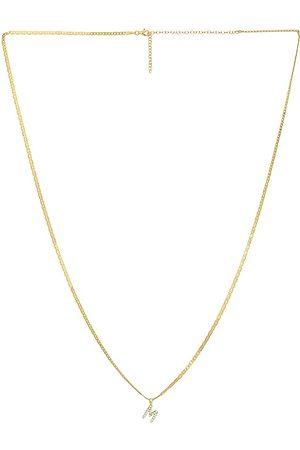 The M Jewelers Initial Body Chain in Metallic .