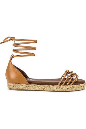 ALOHAS Wanderer Sandal in Tan.