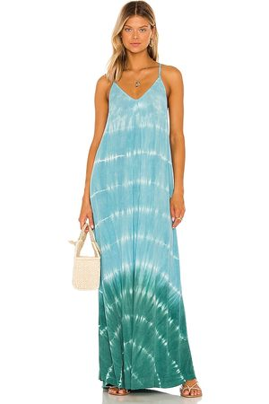 MICHAEL STARS Gloria Slip Dress in Blue.