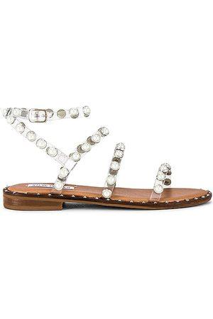 Steve Madden Travel-P Sandal in Tan.
