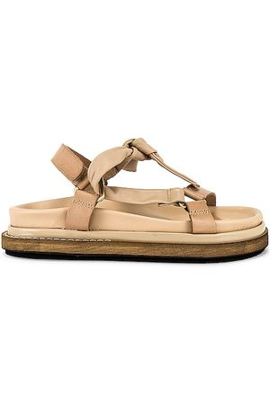 ALOHAS Tied Together Sandal in Nude.