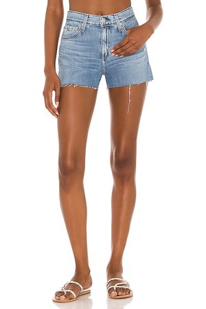 AG Adriano Women Jeans - Hailey Cut Off in Blue.